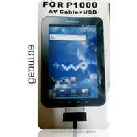 Buy Online New AV Cable+USB For Samsung Galaxy Tab P1000