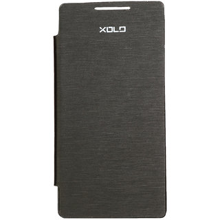 XOLO Q900 Flip Cover in Black available at ShopClues for Rs.734