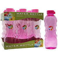 G-PET Fridge Water Bottle Daisy 1 Ltr. Pink - Set Of 6
