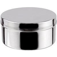Grish Stainless Steel Food Pack Plain Cover Dabba (without Lock) Size 8
