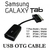 USB Female OTG Cable Adapter For Samsung Galaxy Tab 10.1/8.9/P7500/P7510 Galaxy Tab 2 P3100