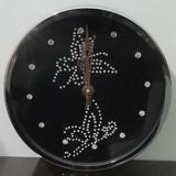Swarovski Crystal Diamonds Wall Clock 30cm By Terro Arts TD-2323