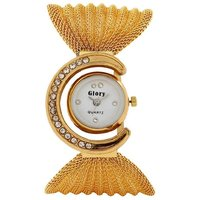 Fast Selling Hot Zulla Gold Dori Analog Watch For Girls.by miss
