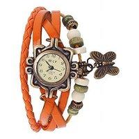 Fancy Orange Color Dori Watch by miss