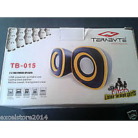 USB 2.O MULTIMEDIA TERABYTE SPEAKER  (G53)