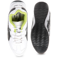 EAdams Big Step White & Black Sport Shoes