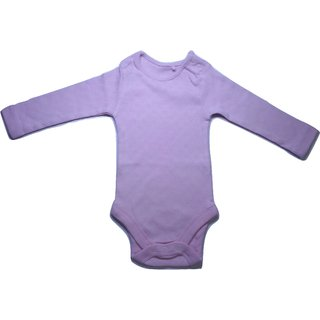 Pink Colour Stretchable Baby Romper