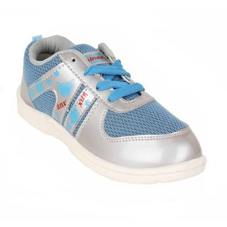 Earton Women/Girl Silver Sports Running Shoes