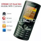 XTREME G9A GSM Dual Sim Mobile With Camera BT FM Radio Torch
