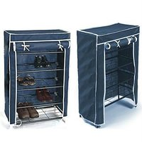 Portable Folding Shoe Rack - 4425196