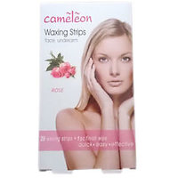 Cameleon Face / Underarm Waxing Strips - Rose ( Quick, Easy & Effective )