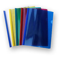Milky File Folder Stick File For Project Work School College (Set Of 5 Pieces)