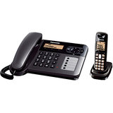 PANASONIC KX-TG6451BX Corded Cordless Phone With Bill & Warranty