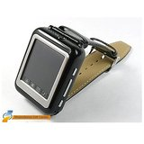 TOUCH SCREEN SINGLE SIM WATCH MOBILE PHONE WITH BLUETOOTH +FM+WHITE/BLACK