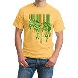 Zibra Print Round Neck T-shirt