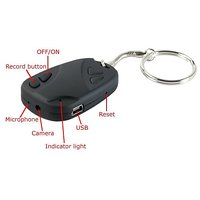 HD CAR KEY CHAIN CAMERA,  WEB CAMERA AND LIVE  VIDEO SPY RECORDING TO PC