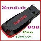 Sandisk 8GB Cruzer Blade Pen Drive