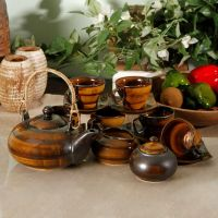 Studio Pottery Stoneware Tea Set
