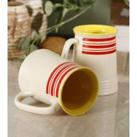 Matt Beer Mugs(Set Of 2) Option 4