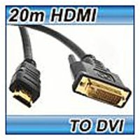 20M HDMI TO DVI CABLE HIGH SPEED HDMI TO DVI-D