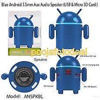 USB Android Robot Multimedia Speakers SYSTEM SPEAKERS DESKTOP LAPTOP SPEAKERS
