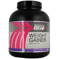 Brio Weight Gainer 3Kg Kesar Pista Badam