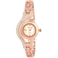 DCH WT 1400 Analog Rose Gold Bracelet Womens Watch
