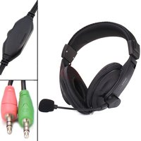 Rissachi HB 575 On-Ear Headphones With Mic