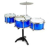 THE NEW & LATEST JAZZ DRUM SET FOR KIDS WITH 3 DRUMS, 2 STICKS & MUCH MORE