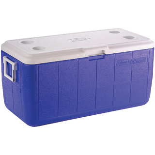 Coleman 100 Quart Cooler Blue (95L)