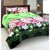 Home Castle Super Soft Double Bedsheet + 2 Pillow Covers(PC-DBL-3D20)