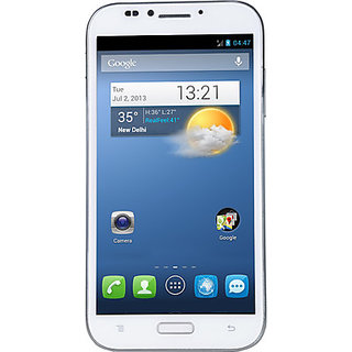 Karbonn Titanium S9  Dual SIM   White  available at ShopClues for Rs.11990