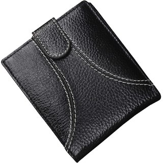 Tamanna Men Black Genuine Leather Wallet