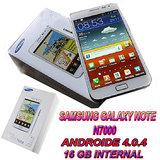 Imported Brand New Samsung Galaxy Note N7000 16GB Phone+ 1YR Dealers Warranty