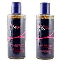 On - On Maha Bhringraj Herbal Hair Oil combo offer 2 pack