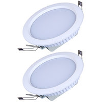 Generic 18 Watt Round Ceiling LED Panel Light (Pack Of 2 Lights)