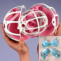 Dual Ball Bubble Bra Saver Washers Laundry Washing Double Machine Protector