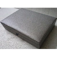 Handicraft Mdf Dry Fruit Box Silver