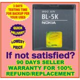 Nokia BL-5K BL5K BL 5K Mobile Battery For NOKIA C7 N85 N86 ORO X7 C7-00 X7
