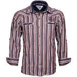 Integriti Brown White Stiped Shirt (HHP00186)