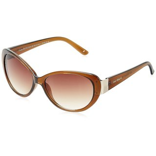 Joe Black JB-783-C3 Brown Cat-eye Sunglasses