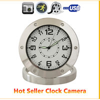 Motion Activated Clock Video Camera Security Cam SPY NANNY Camera Alarm CLOCK