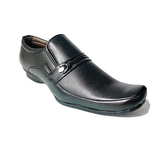 Blue Park Leather Formal Shoes Black 09 By STYLE-ONN