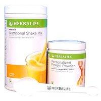 Herbalife Formula 1 (Mango Or Choco Or Vanilla) Shake + Formula 3 Protein Powder