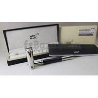 Montblanc Princesse Grace De Monaco Black/Silver RollerBall Pen