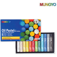 Mungyo Oil Pastel For Artists - 12 Colors (Pack Of 2 Sets)