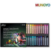 Mungyo Gallery Artists' Soft Pastels - 24 Colors