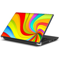 Abstract Colors Laptop Skin By Artifa