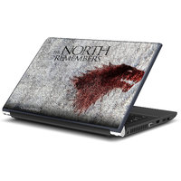 The North Remembers Game Of Thrones Laptop Skin By Artifa