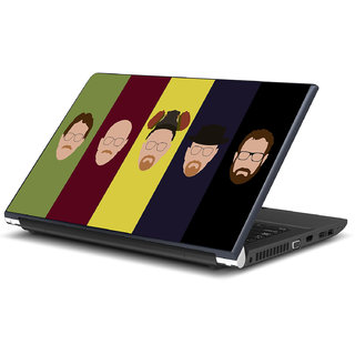 Evolution of Walter White Laptop Skin by Artifa
